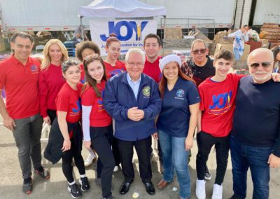 Senator Bob Archuleta with JOY Volunteers
